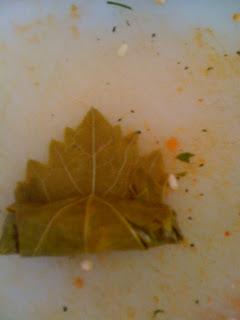 Turkish Stuffed Grape Leaves / Yaprak Sarma food