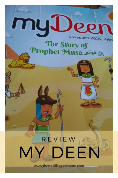 Review : myDeen, an Islamic Magazine for Kids | The Multilingual Home