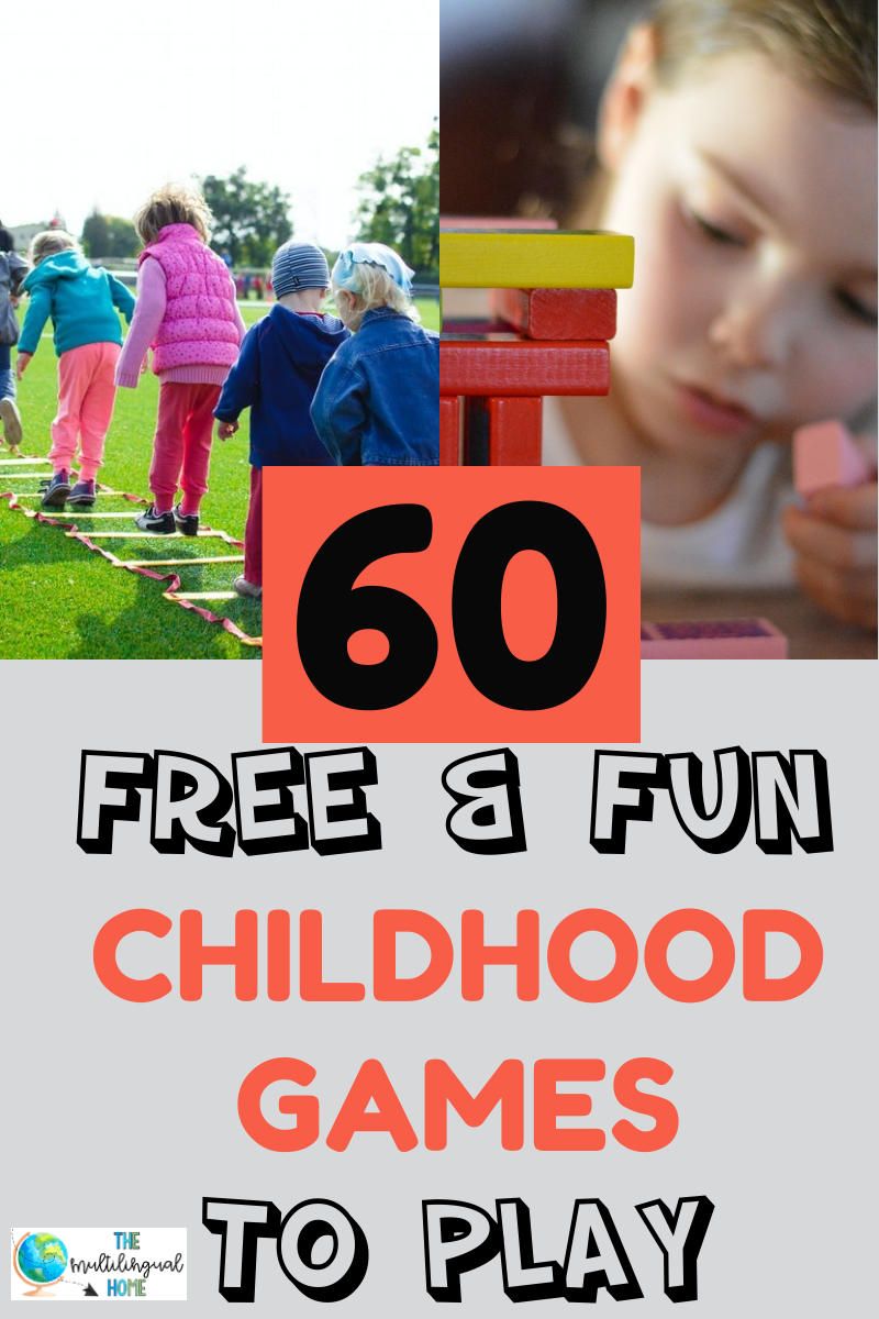 60 childhood games to play